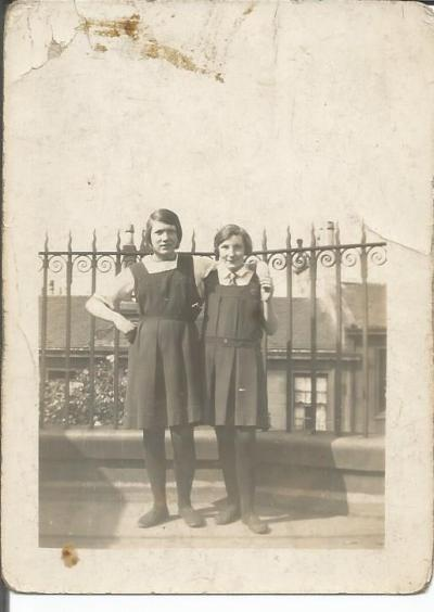 Elizabeth Cadden and Margaret Masterton
