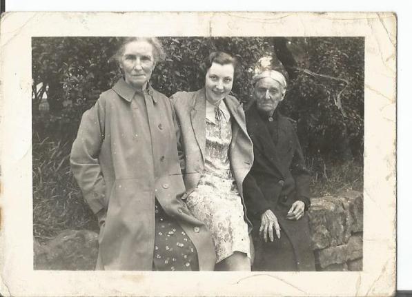 Elizabeth Cadden, Elizabeth Gamble and Sarah Gamble