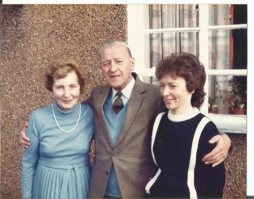 Elizabeth Cadden, William Armour and Kathleen Armour
